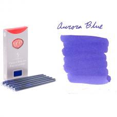 Синие картриджи с чернилами Aurora Refills 5 шт
