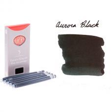 Черные картриджи с чернилами Aurora Refills 5 шт