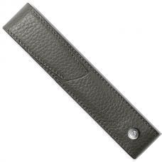 Серый кожаный чехол для ручки Caran d'Ache Leman