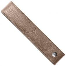 Бежевый кожаный чехол для ручки Caran d'Ache Leman