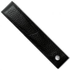Черный кожаный чехол для ручки Caran d'Ache Leman