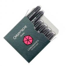 Розовые картриджи Caran d'Ache Chromatics Divine Pink