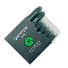 Зеленые картриджи Caran d'Ache Chromatics Delicate Green