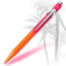 Шариковая ручка Caran d'Ache (Карандаш) 849 Tropical Orange/Pink