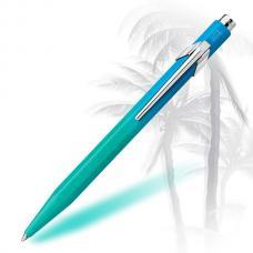 Шариковая ручка Caran d'Ache (Карандаш) 849 Tropical Blue/Turquoise