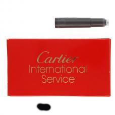 Черные картриджи с чернилами Cartier Ink Cartridge Black