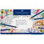 Акварельные карандаши Faber Castell ART GRIP AQUARELLE, набор 36 цветов