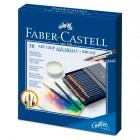 Акварельные карандаши Faber Castell ART GRIP AQUARELLE с кисточкой, набор 38 цветов