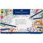 Акварельные карандаши Faber Castell ART GRIP AQUARELLE, набор 60 цветов