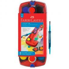 Акварельные краски Faber Castell CONNECTOR, набор 24 цвета