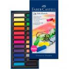 Мягкие мелки мини Faber Castell GOFA, набор цветов, в картонной коробке, 24 шт.