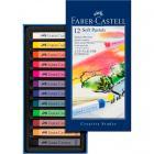 Мягкие мелки Faber Castell GOFA, набор цветов, в картонной коробке, 12 шт.