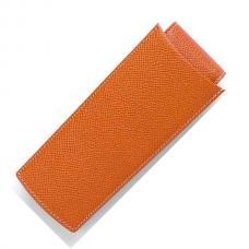 Кожаный чехол для трех ручек Graf von Faber-Castell коричневый