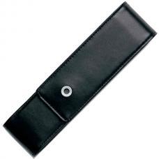 Кожаный чехол для двух ручек Graf von Faber-Castell Classic черный