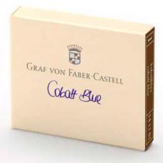Синие картриджи с чернилами Graf von Faber-Castell Cobalt Blue