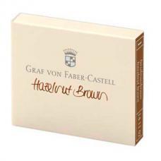 Коричневые картриджи с чернилами Graf von Faber-Castell Hazelnut Brown