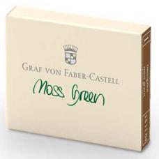 Зеленые картриджи с чернилами Graf von Faber-Castell Moss Green
