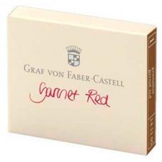 Красные картриджи с чернилами Graf von Faber-Castell Garnet Red