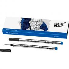 Синий стержень для ручки-роллера Montblanc Rollerball Refill Homage to Homer M