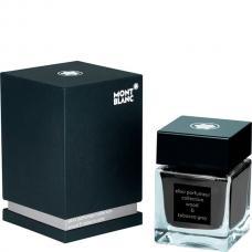 Серые чернила во флаконе Montblanc Ink Bottle 50 ml Elixir Parfumeur, Wood & Tobacco scent, Grey