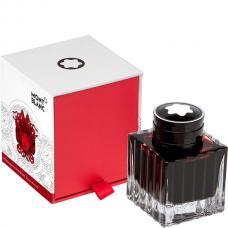 Красные чернила во флаконе Montblanc Ink Bottle 50 ml «Покровитель искусств», Homage to Hadrian
