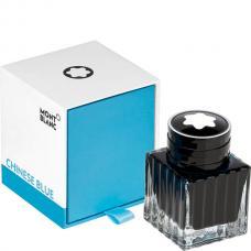 Синие чернила во флаконе Montblanc Ink Bottle 30 ml Chinese Blue
