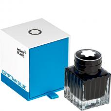 Синие чернила во флаконе Montblanc Ink Bottle 30 ml Egyptian Blue