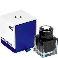 Синие чернила во флаконе Montblanc Ink Bottle 30 ml Ultramarine