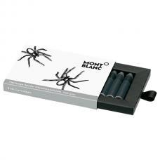 Серые картриджи Montblanc Heritage Spider Metamorphosis Web Grey 8 Ink Cartridges