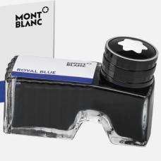 128185 Синие Чернила во флаконе Montblanc Royal Blue 60 мл (105192)