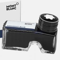 128186 Темно-синие чернила во флаконе Montblanc Midnight Blue 60мл (109204)
