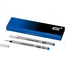 Синий стержень Montblanc Refill Fineliner Pacific Blue B