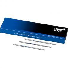 Синий мини стержень для шариковой ручки Montblanc Pacific Blue M