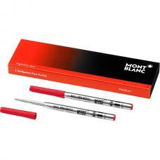 Красный стержень для шариковой ручки Montblanc Nightfire Red M