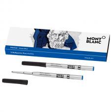Синий стержень для шариковой ручки Montblanc Ballpoint Pen Refill M Homage to Homer Greek Blue