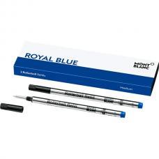 105159 Синий стержень Montblanc Rollerball Refill Royal Blue M