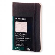 Еженедельник Moleskine CLASSIC WKNT POCKET SOFT 90 x 140 мм