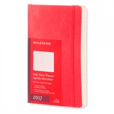Ежедневник Moleskine CLASSIC DAILY LARGE SOFT Красный