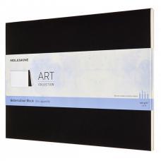 Блокнот Moleskine ART WATERCOLOR 230 х 310 мм 72 стр. нелинованный мягкая обложка черный