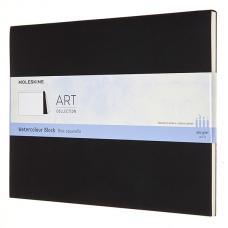 Блокнот Moleskine ART WATERCOLOR XLarge 190 х 250 мм 72 стр. нелинованный мягкая обложка черный