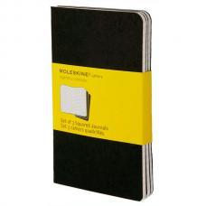Блокнот Moleskine CAHIER JOURNAL Large 130 х 210 мм обложка картон 80 стр. клетка черный (3шт)