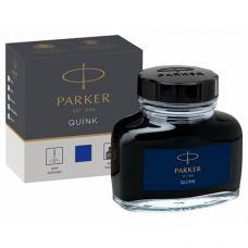 Синие чернила Parker Quink Blue 57мл во флаконе