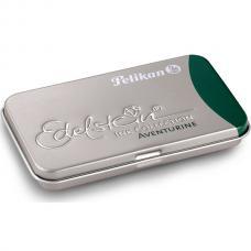 Зеленый картридж с чернилами Pelikan Edelstein EIGRT6 Aventurine 6 шт