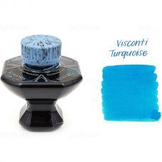 Бирюзовые чернила во флаконе Visconti Turquoise Ink 40 мл