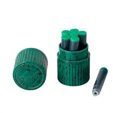 Зеленые картриджи с чернилами Visconti Green ink cartridges 7шт