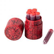 Красные картриджи с чернилами Visconti Red ink cartridges 7шт