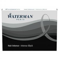 Черные стандартные картриджи Waterman Standard Black 8шт