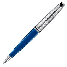 Шариковая ручка Waterman Expert 3 DeLuxe Obsession Blue CT