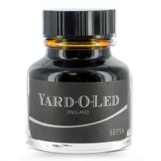 Коричневые чернила во флаконе Yard-O-Led Bottled Ink Sepia